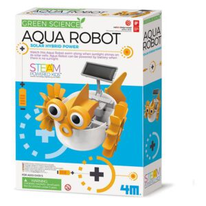 Aqua Robot diy green science 4M leonietjes