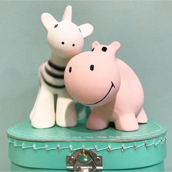 tikiri bijt en badspeelgoed met rammelaar nijlpaard