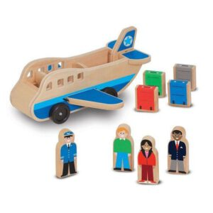 houten vliegtuig melissa doug leonietjes