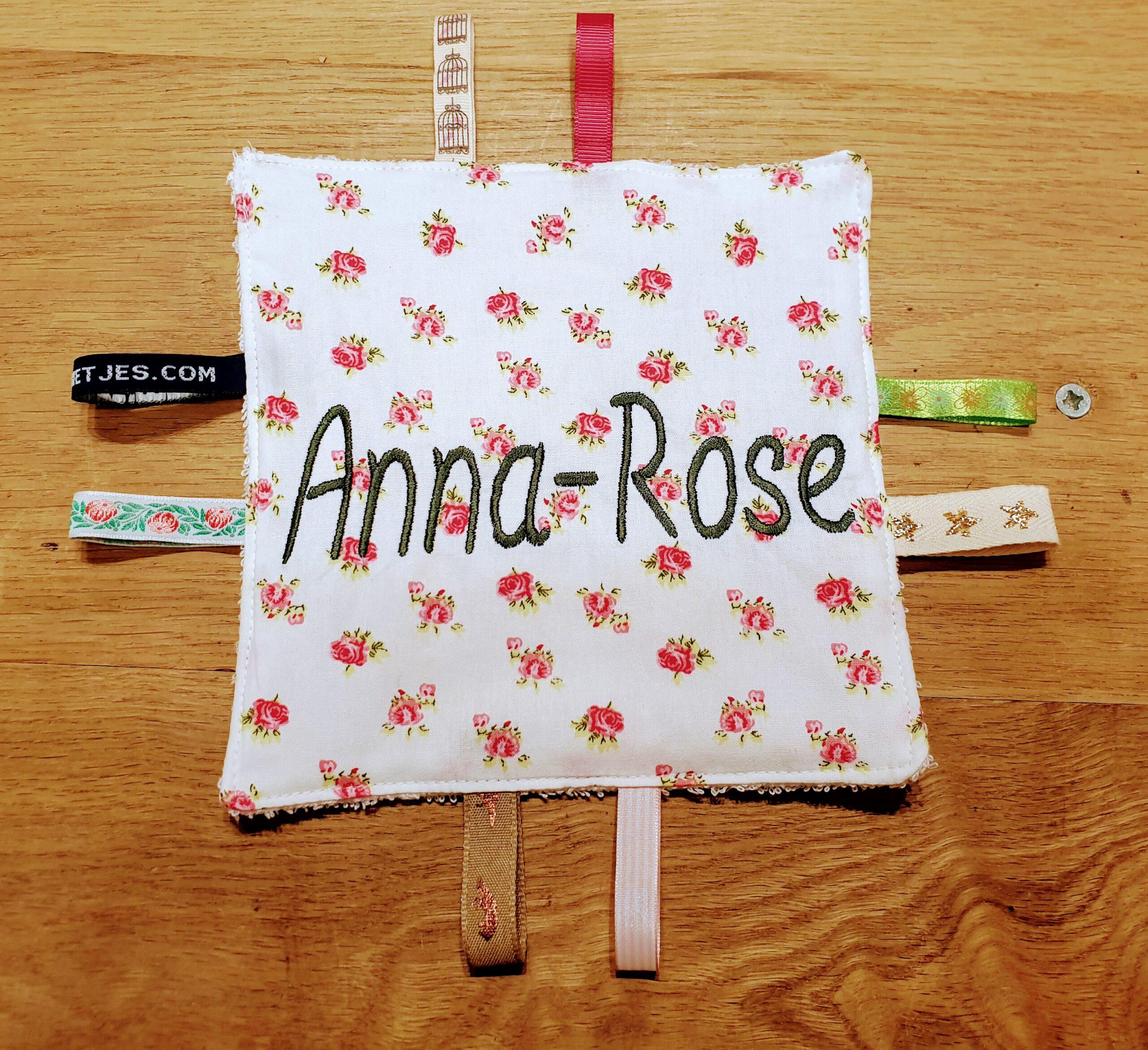 knisperdoekje met naam roosjes