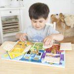 grendelbord, slotenbord, melissa & doug, Loenietjes