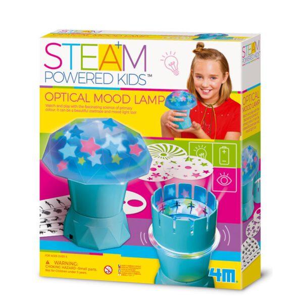 Optische sfeerlamp diy steam 4M Leonietjes