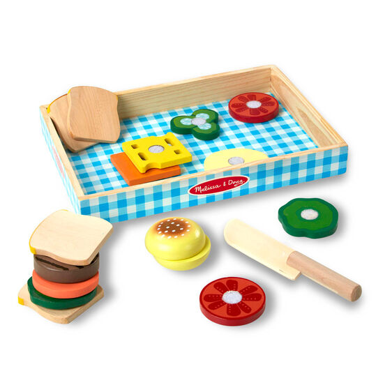 sandwich set, melissa & doug, leonietje's