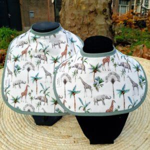 slab 2pack giraffe en olifant