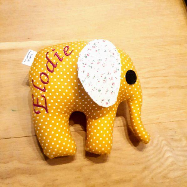 knuffel olifant met naam