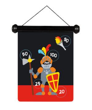 6182012 magnetisch darts ridder, kasteel scratch europe