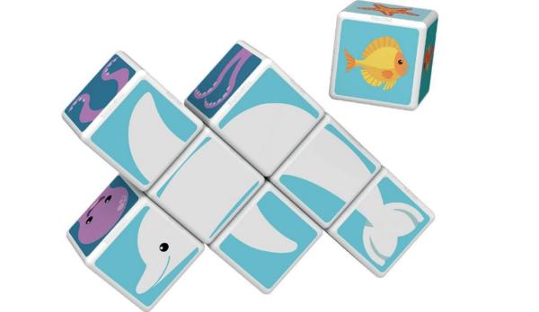 Geomag MagiCube Sea Animals - 11 delig