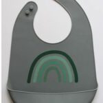 siliconen slab groen met regenboog