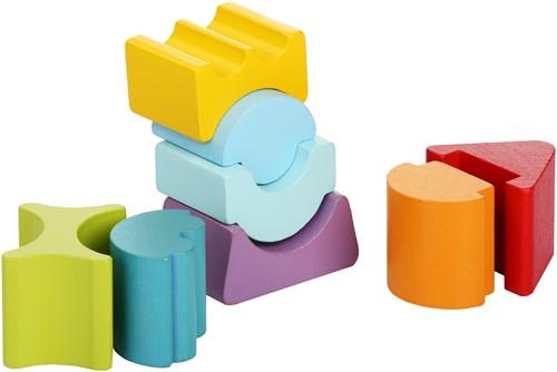 cubika-flexibele-houten-stapeltoren-klein-rood-dak