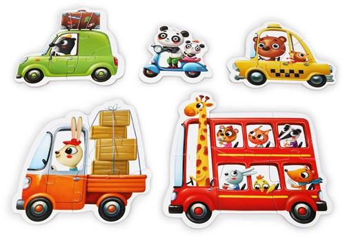 puzzlika-puzzel-voertuigen-2plus3plus4plus5plus6-stukjes